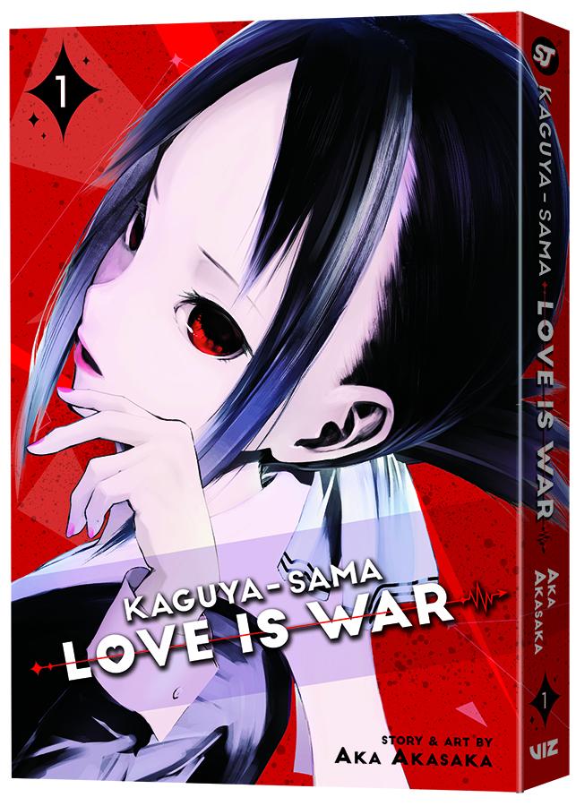 VIZ Media Launches New Manga Series KAGUYASAMA LOVE IS