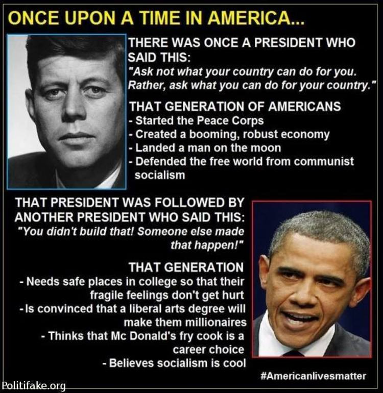 Can you compare JFK to Obama?