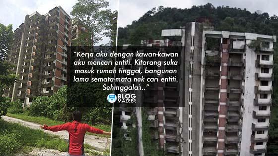 Diekori Penunggu Highland Tower Sampai Ke Rumah, Lelaki Ini Ceritakan Pengalaman Seramnya.