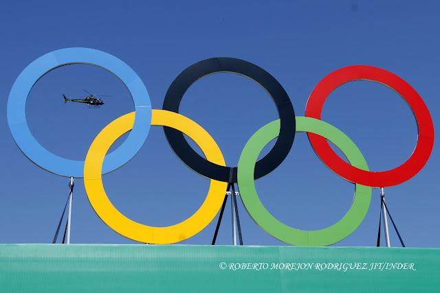 Seguridad y Aros Olimpicos