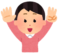 指で数を数える男の子のイラスト(8)