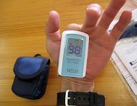 NISSEI パルスオキシメータ パルスフィットBO-650