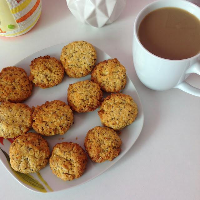 fit kokosowo-jaglane ciasteczka z chia