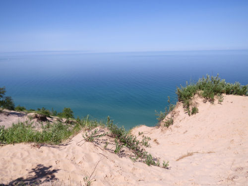 Arcadia Dunes Lake Michigan view