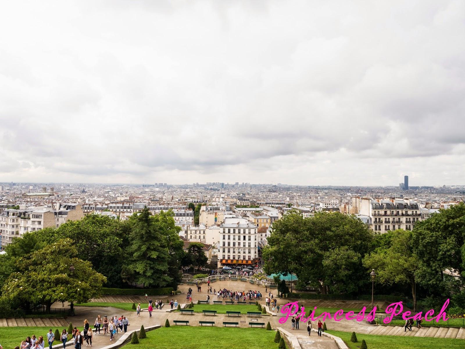 聖心堂遠眺巴黎市區