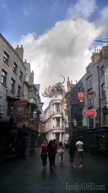 Diagon Alley Wizarding World of Harry Potter Orlando Tips & Review Family Travel 2015