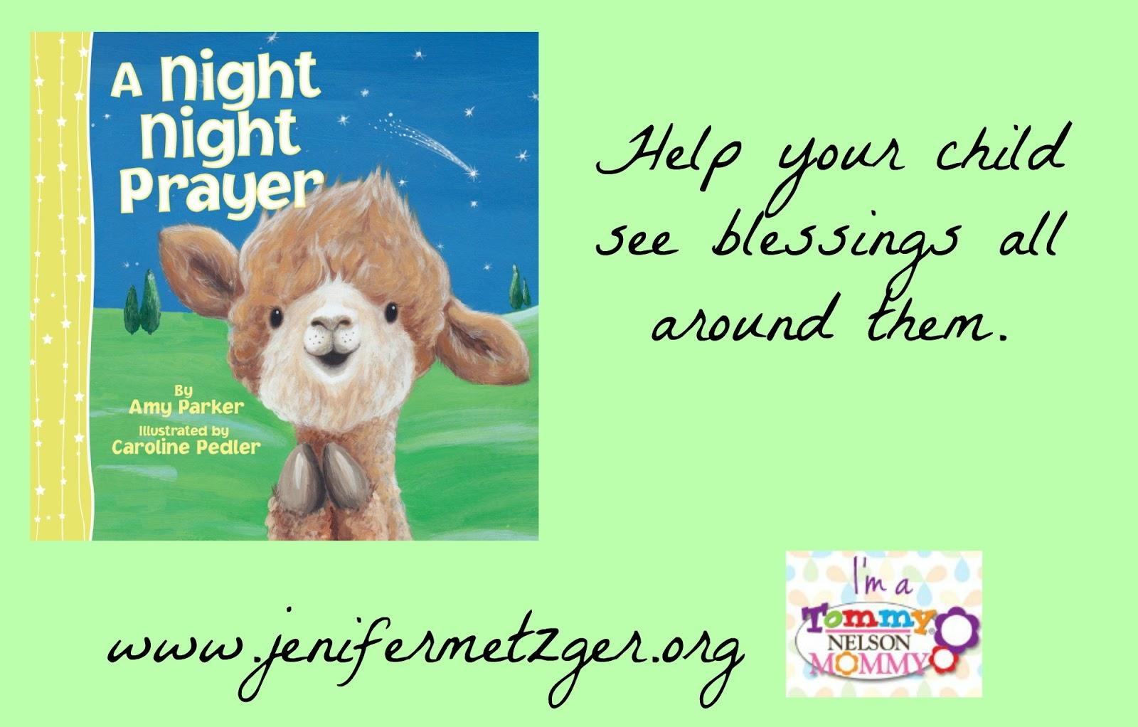 A Night Night #Prayer. #children #tommymommy