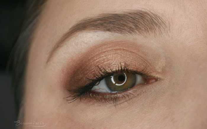 golden eye look