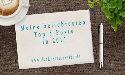 Meine beliebtesten Top 5 Blog-Posts in 2017, Der kreative Stift