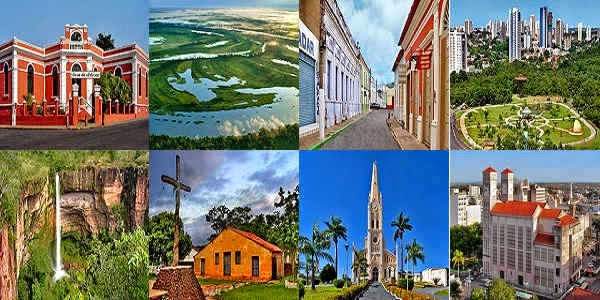 Top tourist attractions in Cuiaba of Brazil