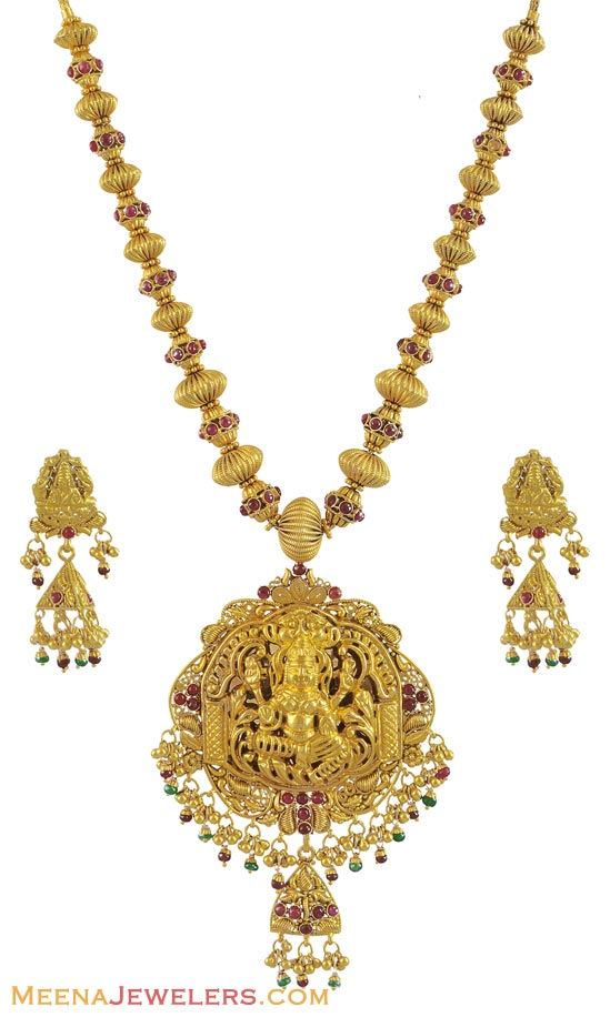 new temple jewellery designs | SUDHAKAR GOLD WORKS