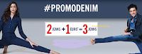 Logo OVS #PromoDenim: acquista 2 jeans e il 3° lo paghi solo 1€
