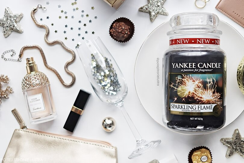 Yankee Candle Sparkling Flame zapach limitowany 2017