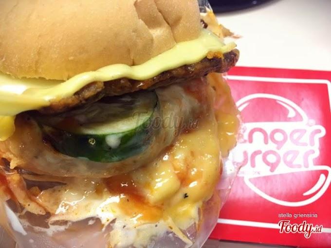Blenger Burger Dengan Porsi Besar