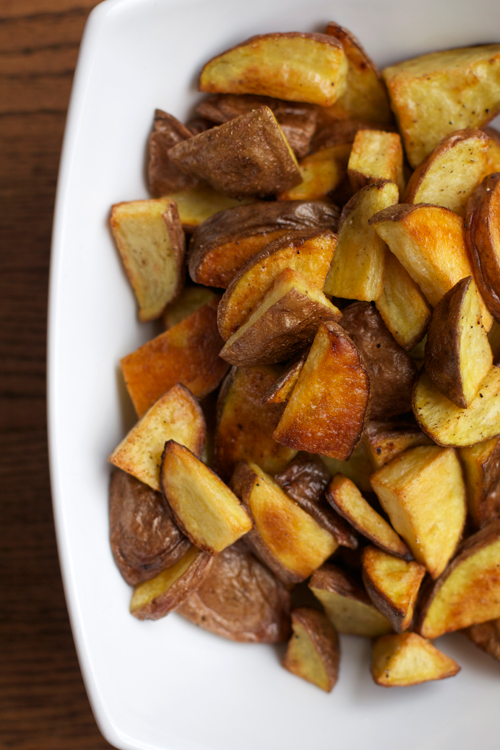 Easy Roasted Breakfast Potatoes || A Less Processed Life