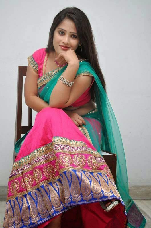 Aishwarya Arjun In Saree