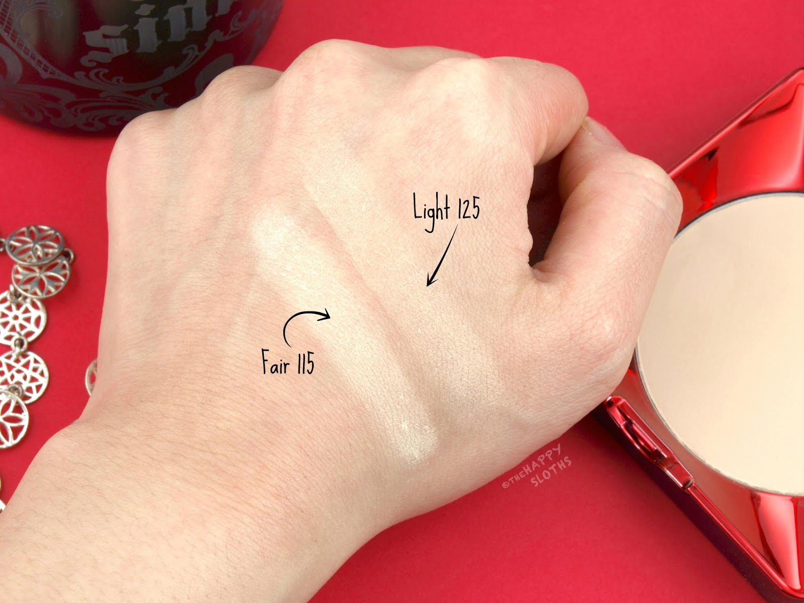 "Kat Von D | Lock-It Powder Foundation in ""Fair 115"" & ""Light 125"": Review and Swatches"