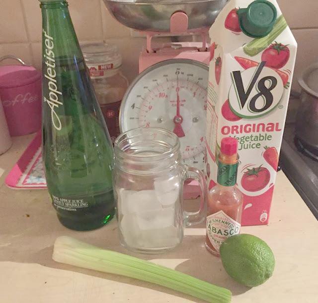 virgin mary mocktail recipe
