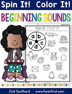 https://www.teacherspayteachers.com/Product/Beginning-Sounds-Spin-It-Color-It-2625952