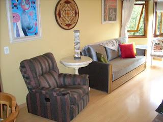 Living - Apartamento aluguel Temporada Gramado