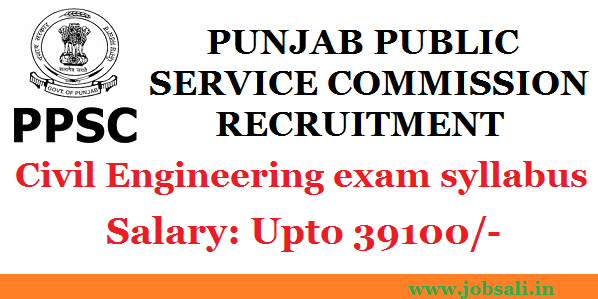PPSC Recruitment 2016 ,PPSC exam, PPSC Notification