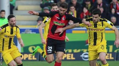 Borussia Dortmund gana al Benfica 6 a 1