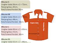 Cara Mengukur Baju Seragam Sekolah