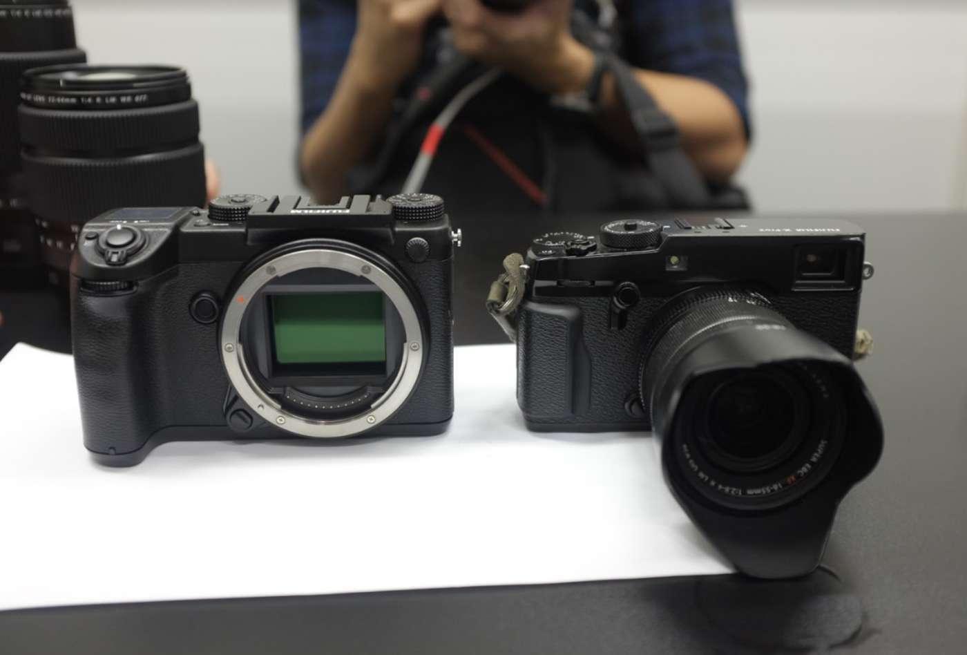 Fujifilm GFX 50S и X-Pro2
