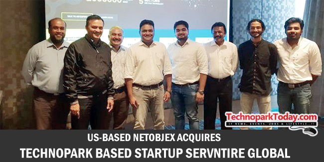 US-BASED NETOBJEX ACQUIRES STARTUP SERVNTIRE GLOBAL