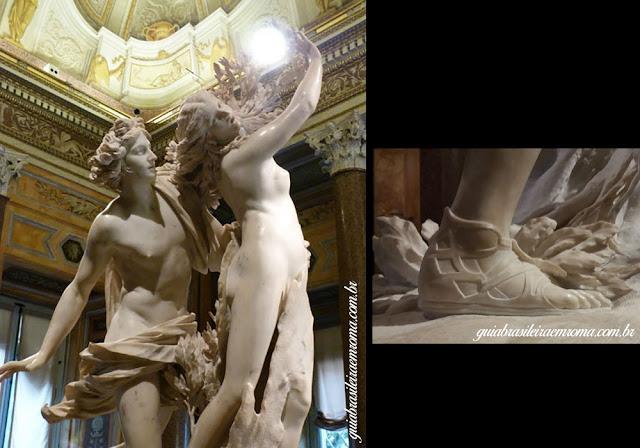 bernini Galeria borghese apolo guia brasileira - Bernini é o Barroco