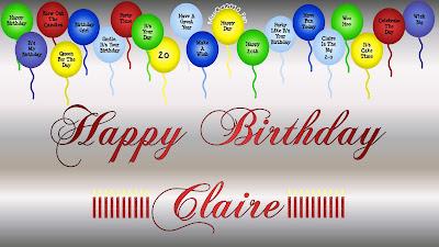 5 25 2011 Happy Birthday Claire Sinclair Wallpaper