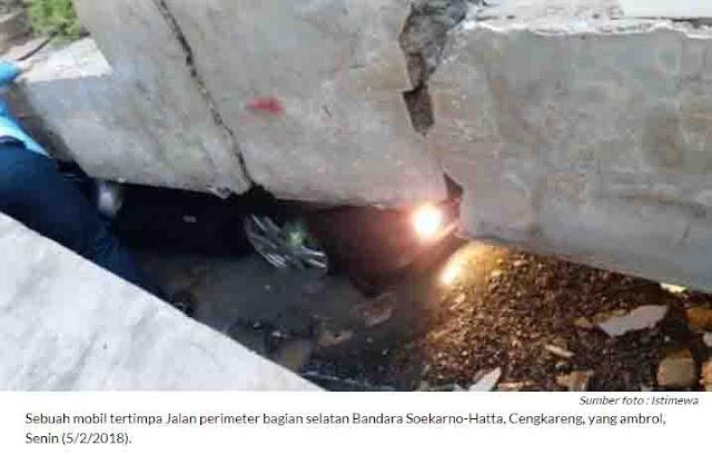 Bencana Proyek Infrastruktur Jokowi Silih Berganti, Dua Menteri Diminta Mundur