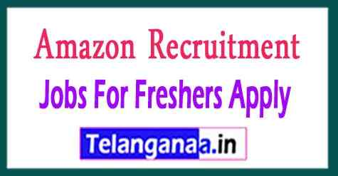 Amazon Recruitment Jobs For Freshers Apply