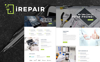 iRepair - Excellent WordPress Theme