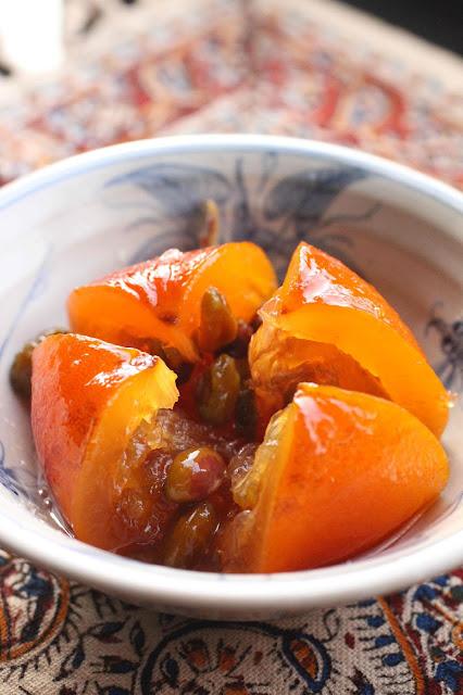 oranges ameres au sirop iran