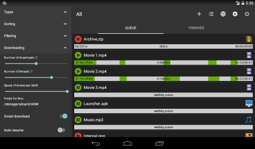 Advance Download Manager Pro (ADM) Latest Version 5.1.1