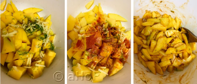 Fruit - Spices - Mixing