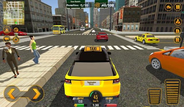 تنزيل لعبة السيارات New York City Taxi Driver نيويورك سيتي تاكسي درايفر للأندرويد مجانآ