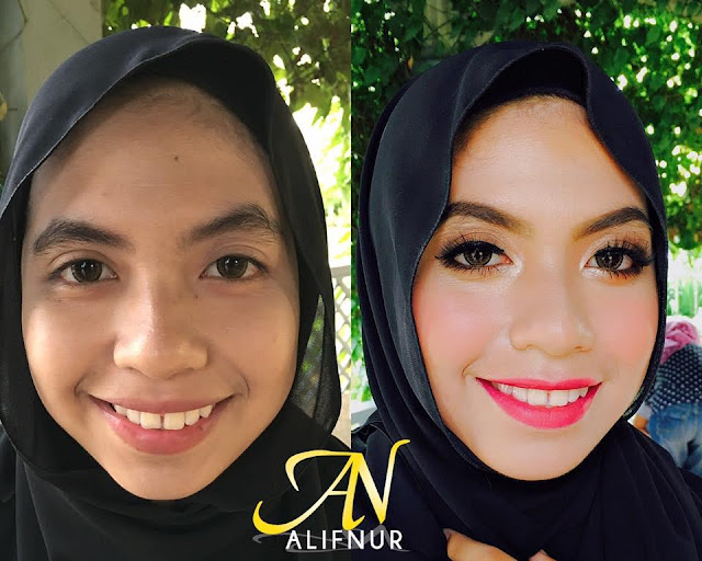 ALIFNUR Foundation Instant Flawless Dan Glowing
