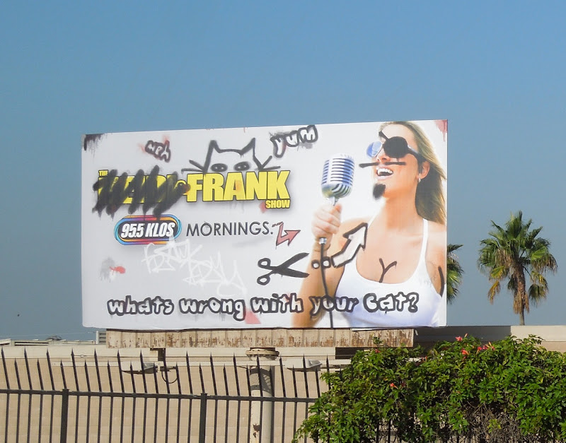 Heidi Frank Show radio graffiti billboard