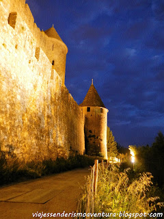 Carcassonne nocturna