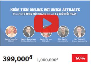 Học kiếm tiền online từ seo, marketing, Affiliate