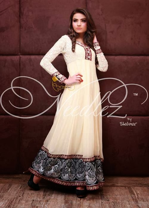 Latest Party Wear Collection 2014-15 Needlez By Shalimar