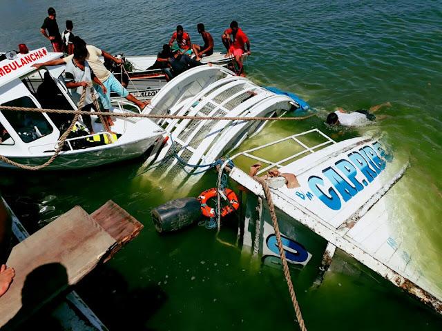 Mais dois corpos de vítimas do naufrágio são encontrados no Pará