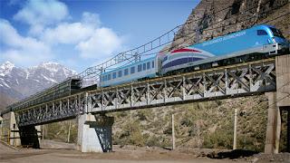 Quieren incorporar un tren al proyecto del Paso Las Leñas