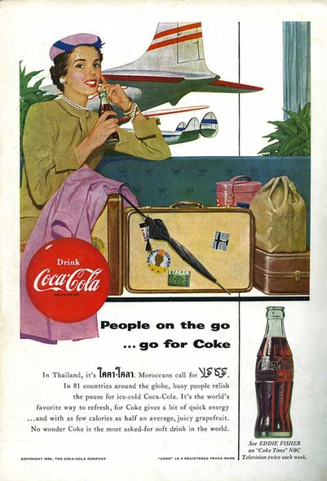 MikeLiveira's Space: Vintage Coca-Cola Advertising Posters