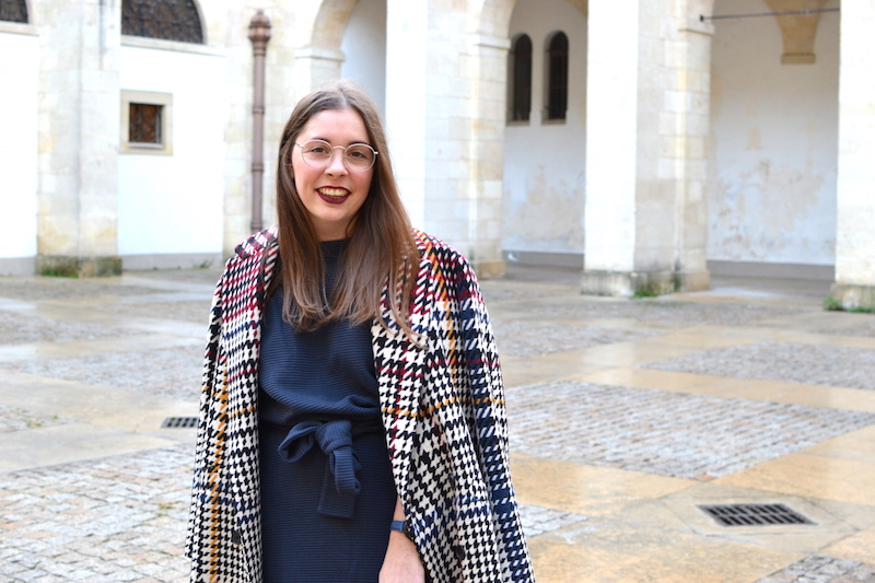 robe Félice Fashion integrity by Galeries Lafayette, manteau pied de poule Pablo