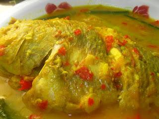 Ikan Kerisi Masak Tempoyak