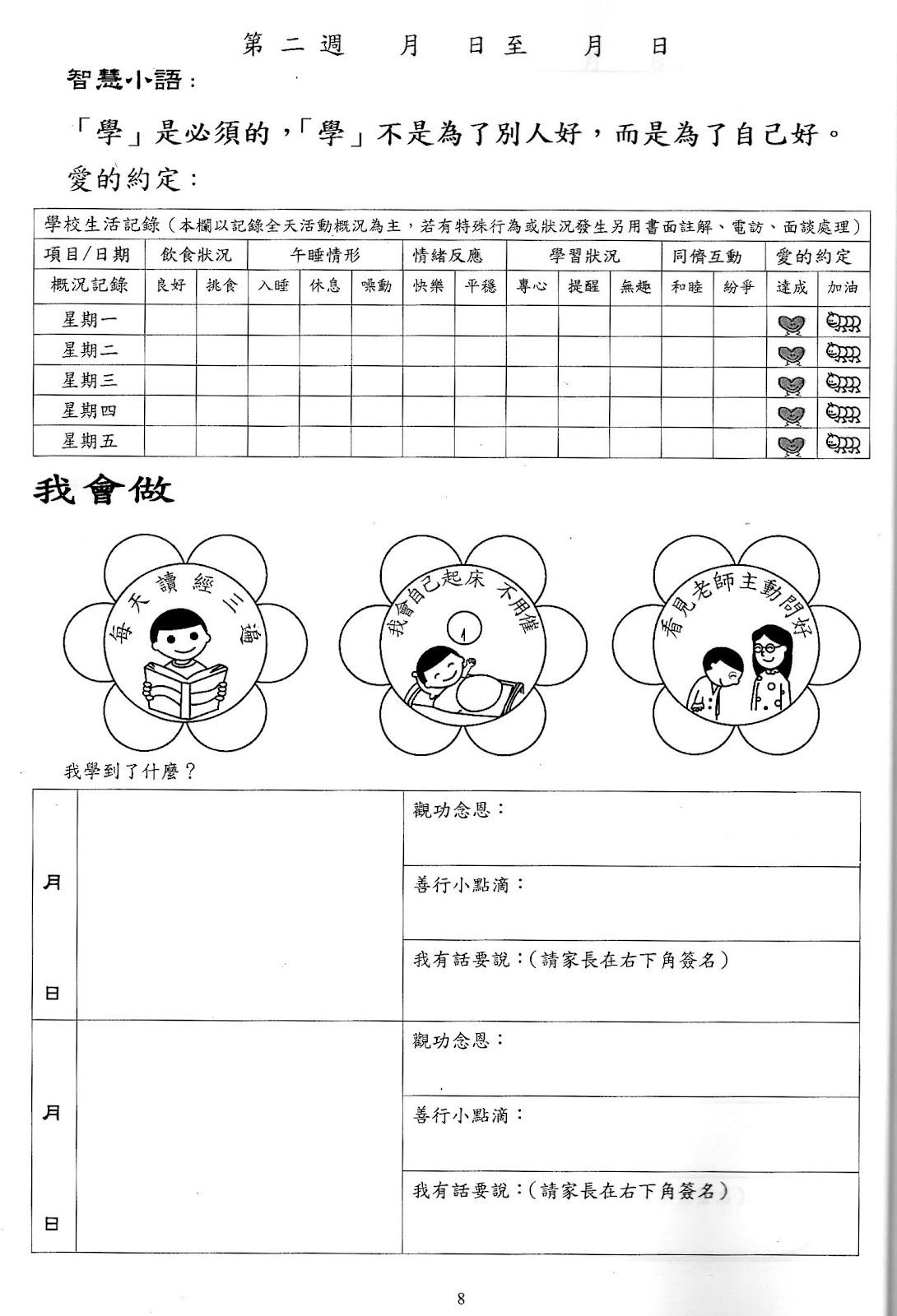 幼兒主題學習單範本| - 愛淘生活