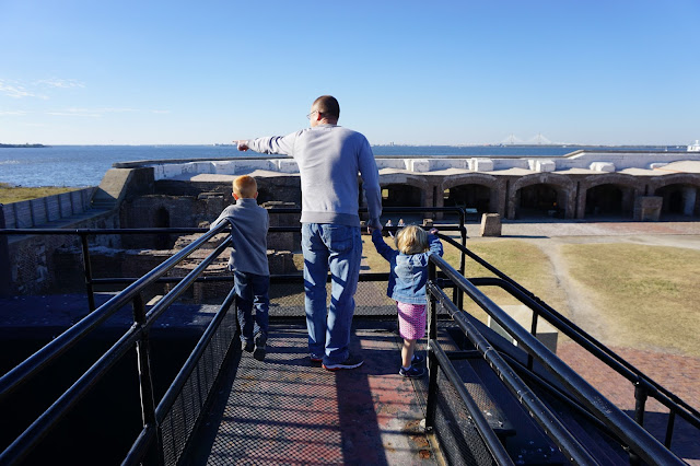 The Family at Ft. Sumter National Monument